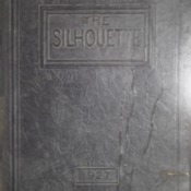 "1927 Glenwood High School Yearbook ""The Silhouette"""