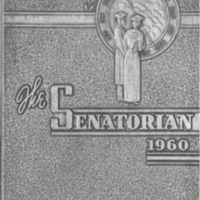 1960 Portsmouth West Senators Yearbook