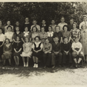 1935 McKinley Class Photo