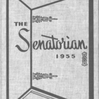 1955 Portsmouth West Senators Yearbook
