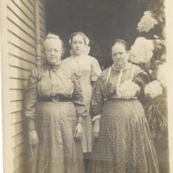 Three Generations of Goodrich Women