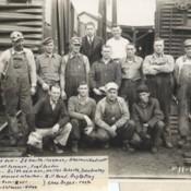 Norfolk & Western Paint Gang 1937