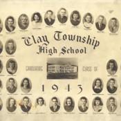 Clay Township High School Graduating Class of 1943