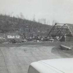 Tornado aftermath; Boll Farm Center (Formerly Chez Paree)