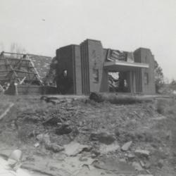 Tornado aftermath<br /><br /> Boll Farm Center (formerly Chez Paree)