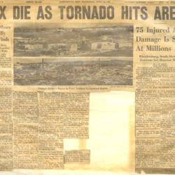 Portsmouth Times article: Six Die As Tornado Hits Area