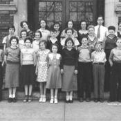 7th Grade, Wilson School - 1935