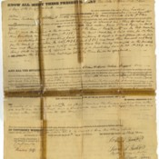 1833 Land Record for the Scioto County Courthouse