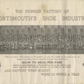 Selby Shoe Factory Folding Postcard