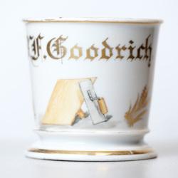 B. F. Goodrich shaving mug