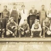 Norfolk & Western Mason Force Number 4 at Otway, Ohio