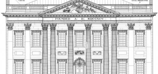 First_Bank_of_the_United_States,_120_South_Third_Street,_Philadelphia,_Philadelphia_County,_PA_HABS_PA,51-PHILA,235-_(sheet_1_of_1)