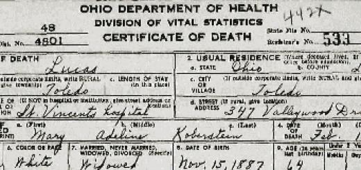 ohio-death-certificates