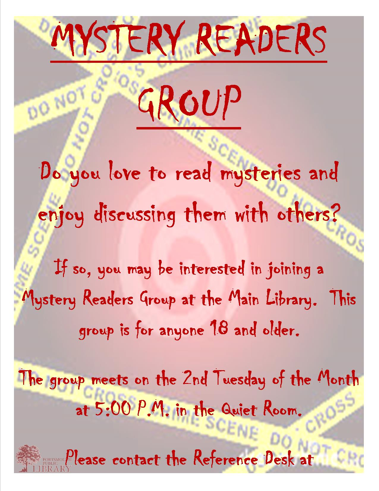 Beth Mystery Flyer for Website