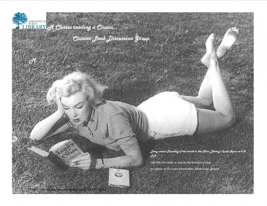 Chaille Marilyn Classics Flyer Mar2016