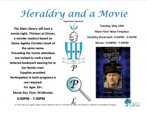 Jaymie Heraldry and a Movie May2016