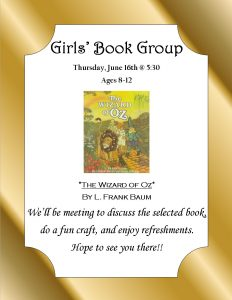Kim Girls Group Wizard of Oz June2016 Flyer