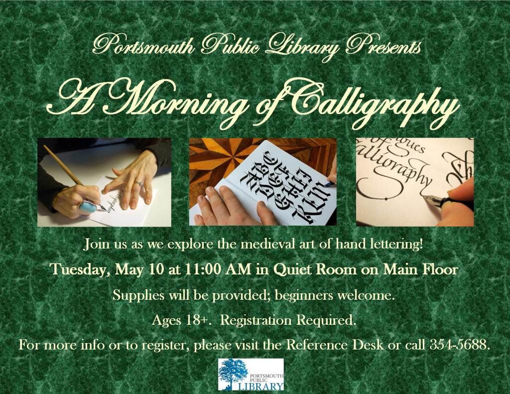 Taryn Morning Calligraphy May2016