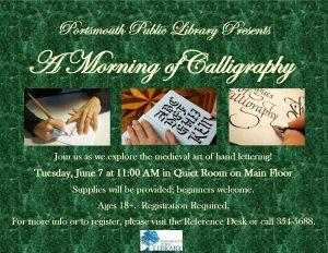 Taryn Morning Calligraphy June2016