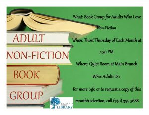 ALEX NON-FIC BOOK GROUP NEW MAY 2016