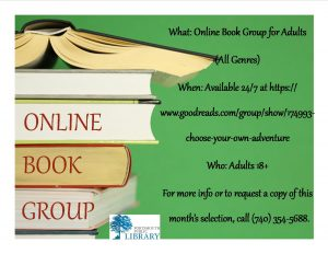 RHONDA AND TARYN ONLINE BOOK GROUP NEW MAY 2016