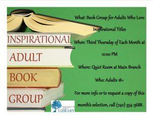 KRISTIN INSPIRATONAL BOOK GROUP NEW MAY 2016