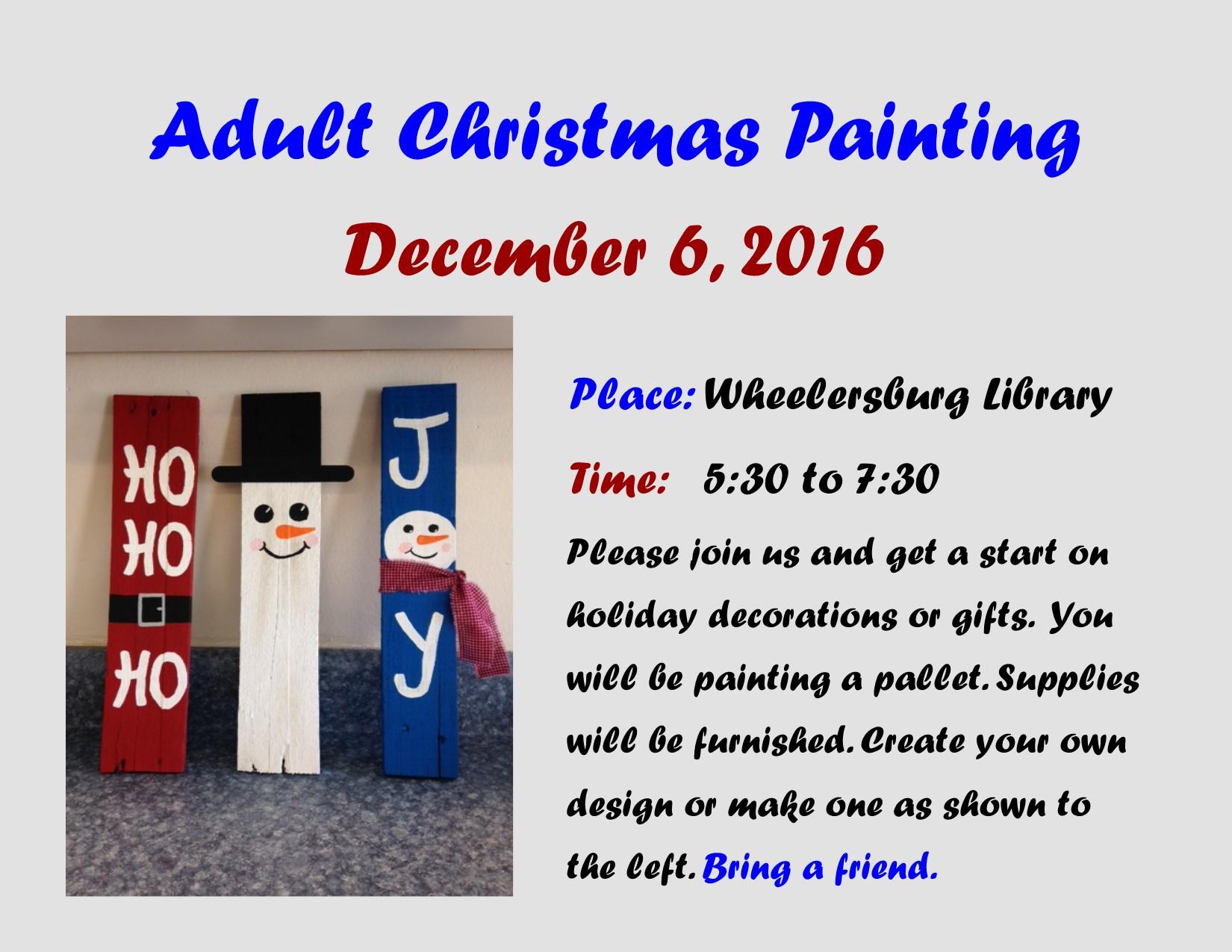 Dec Adult Painting J